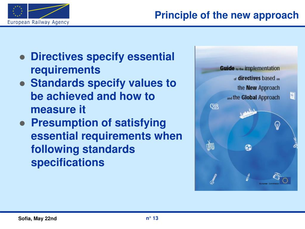 Principle of the new approach