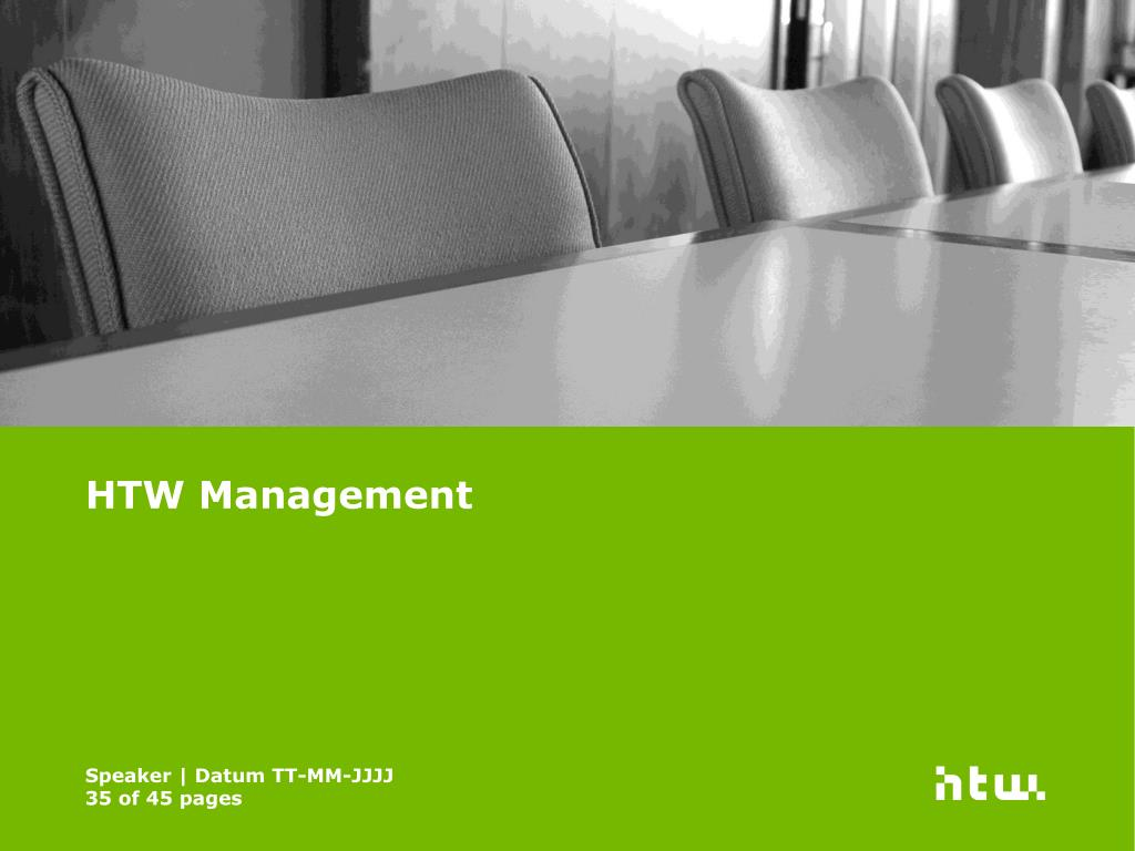HTW Management