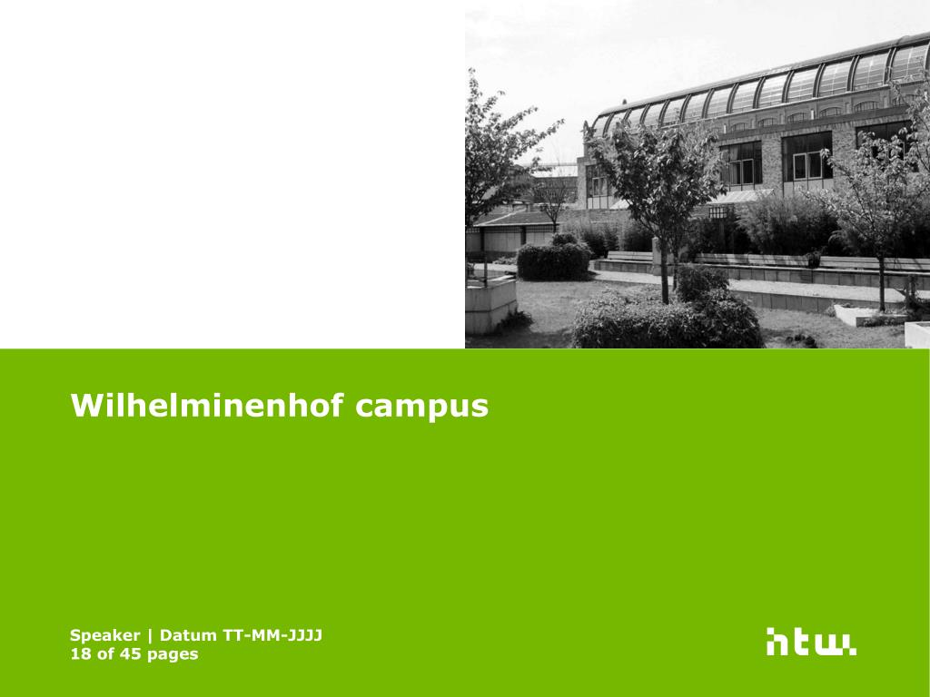 Wilhelminenhof campus