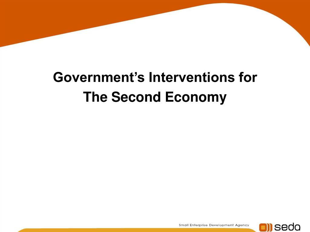 Government's Interventions for