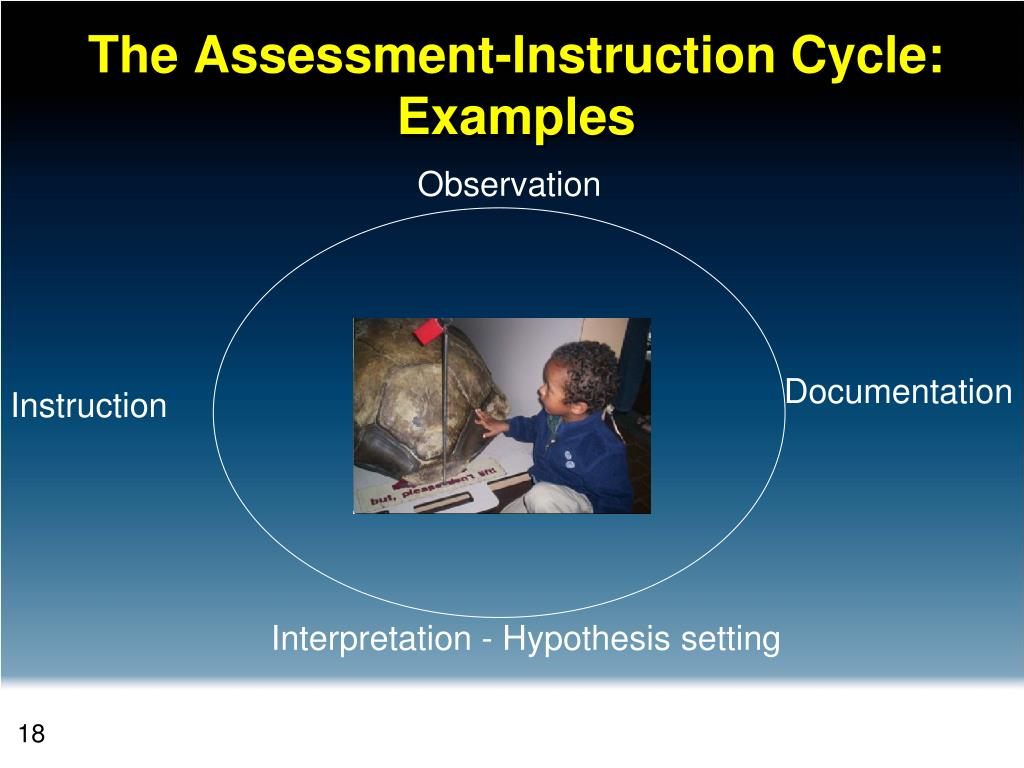 The Assessment-Instruction Cycle: Examples