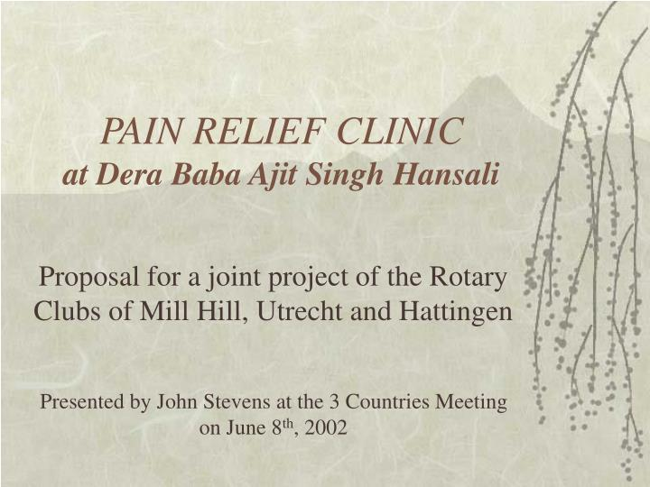 Pain relief clinic at dera baba ajit singh hansali l.jpg