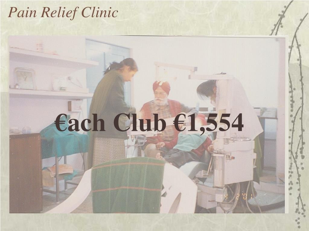 Pain Relief Clinic