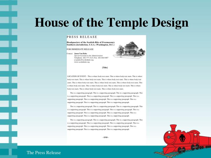 House of the Temple Design