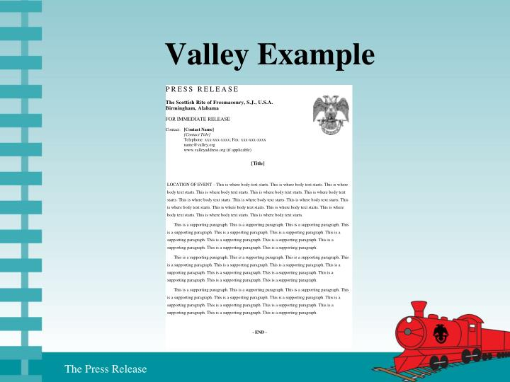 Valley Example
