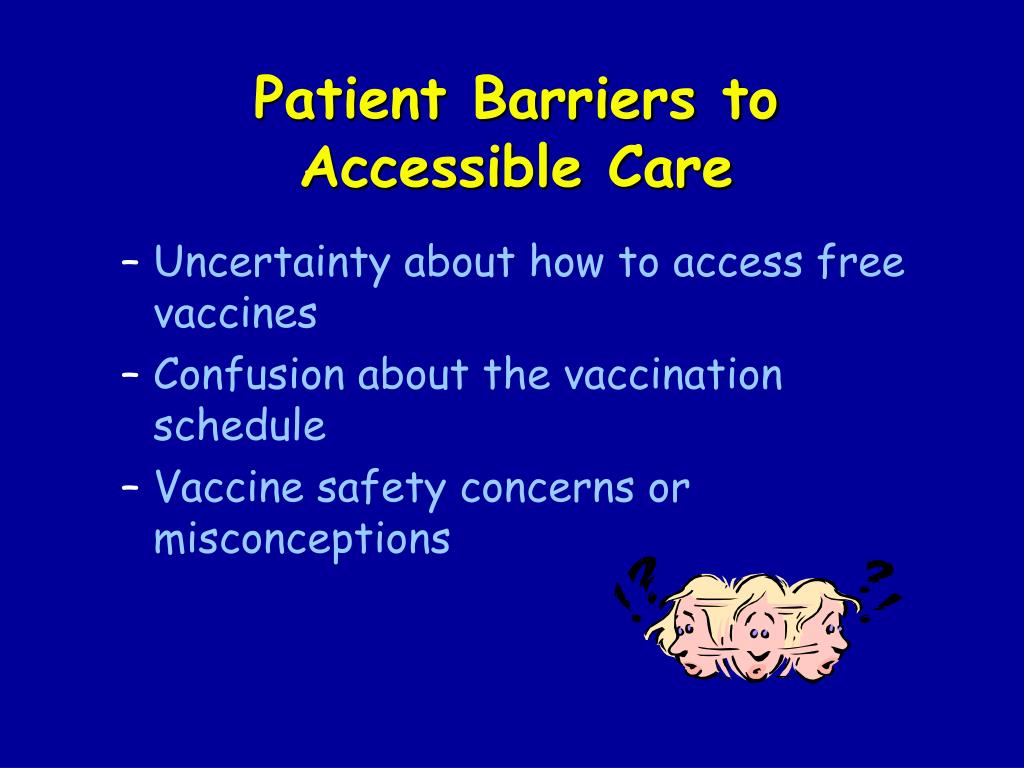 Patient Barriers to
