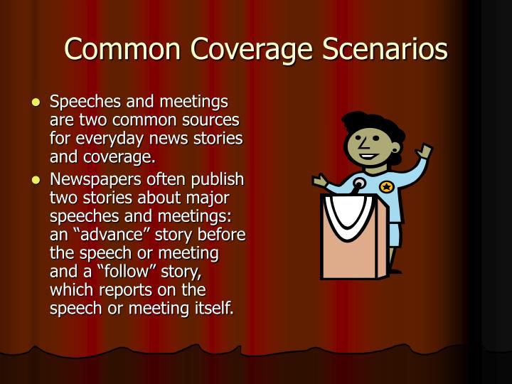 Common Coverage Scenarios