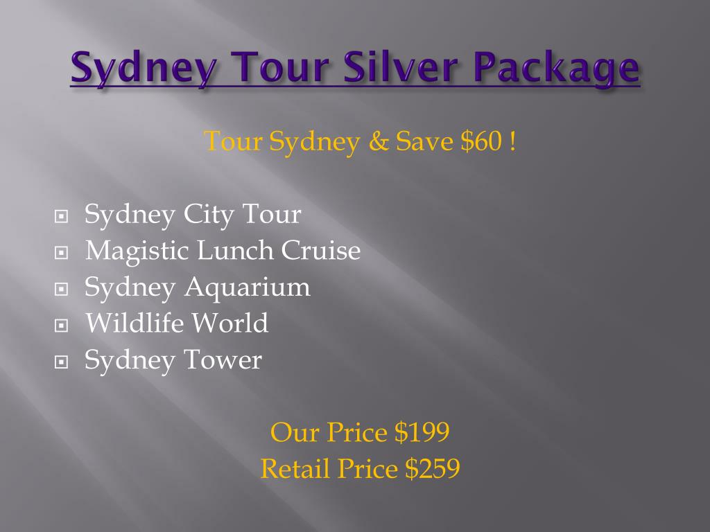 Sydney Tour Silver Package