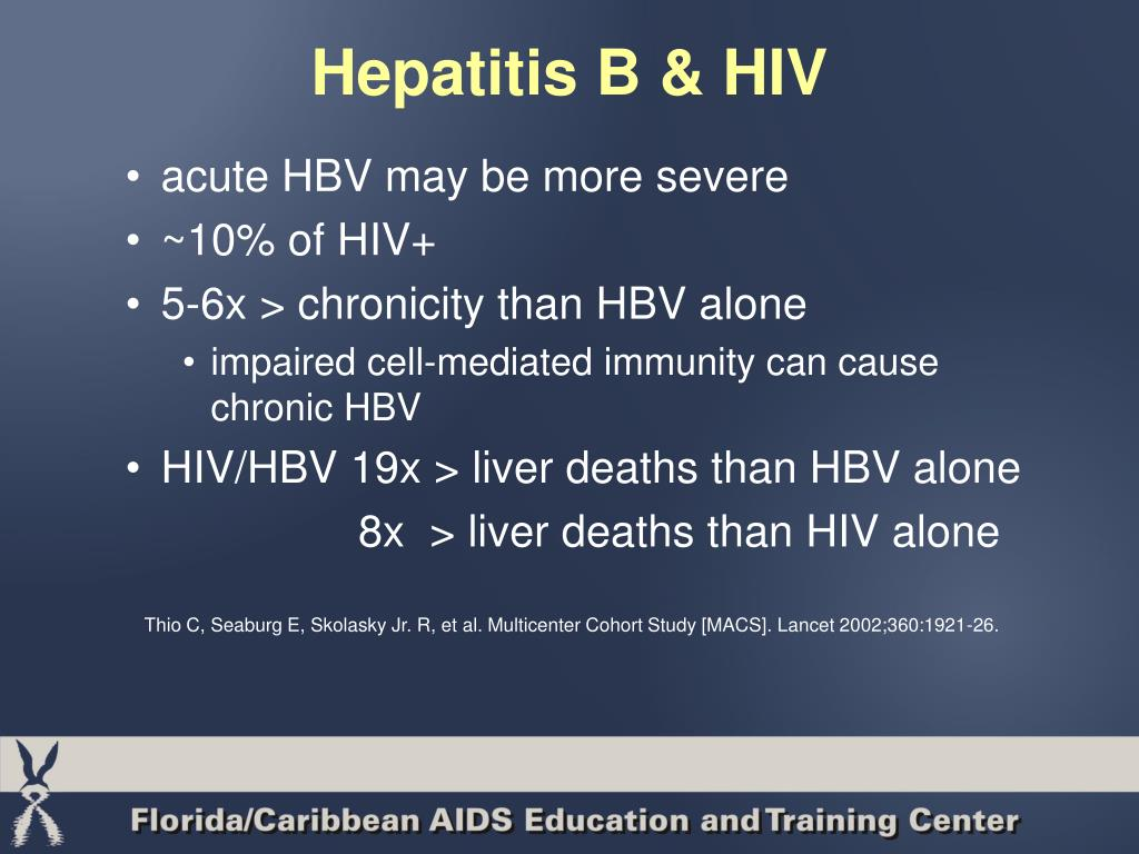 Hepatitis B & HIV