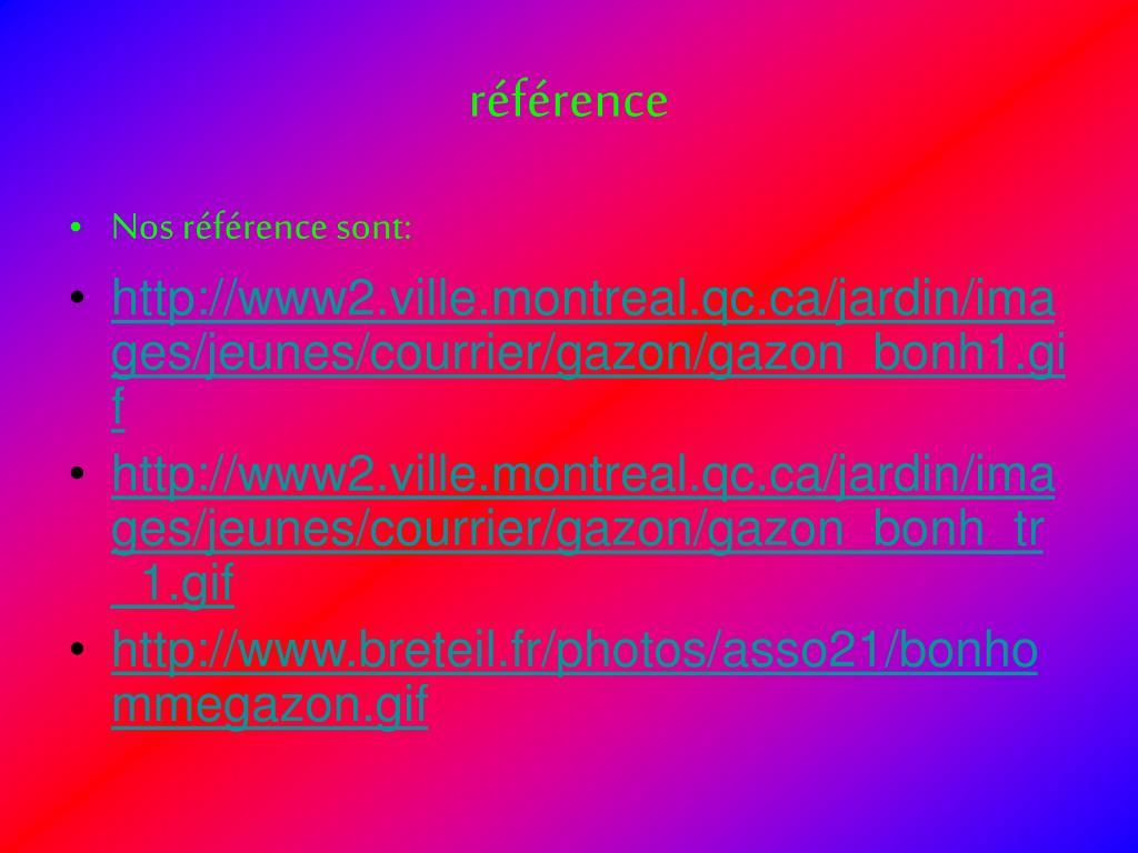 référence