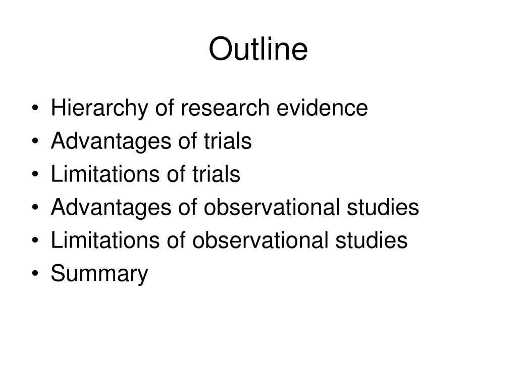 Advantages and disadvantages of exploratory research
