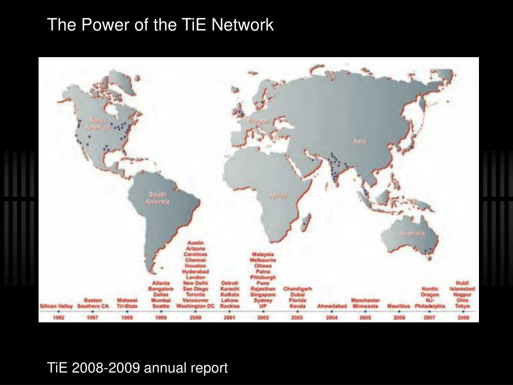 The Power of the TiE Network