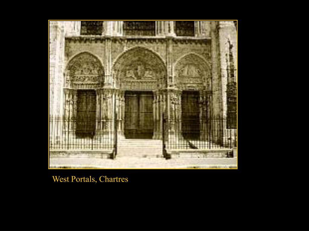 West Portals, Chartres