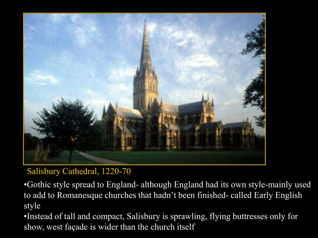 Salisbury Cathedral, 1220-70