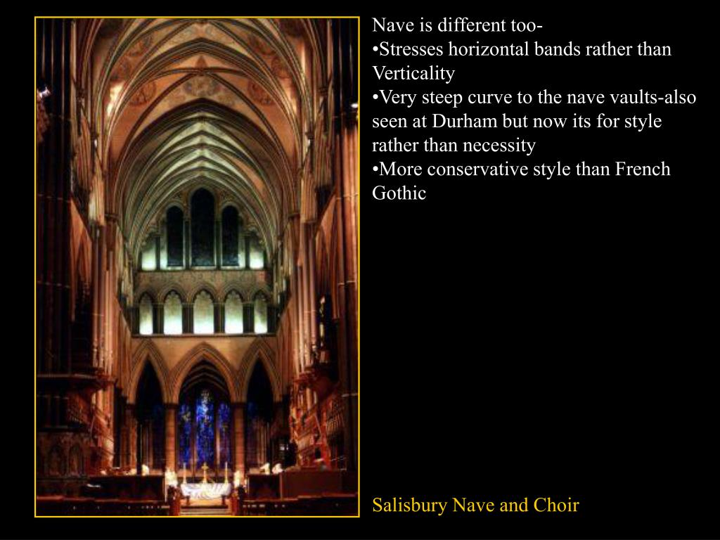 Nave is different too-