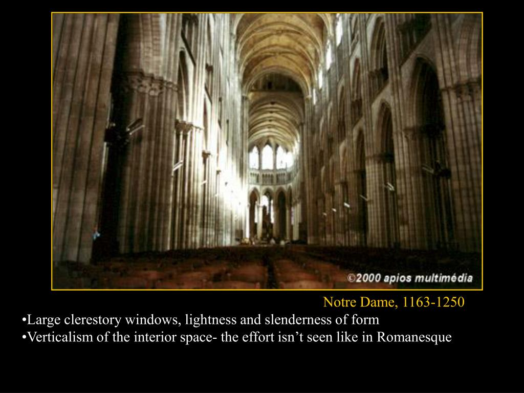 Notre Dame, 1163-1250