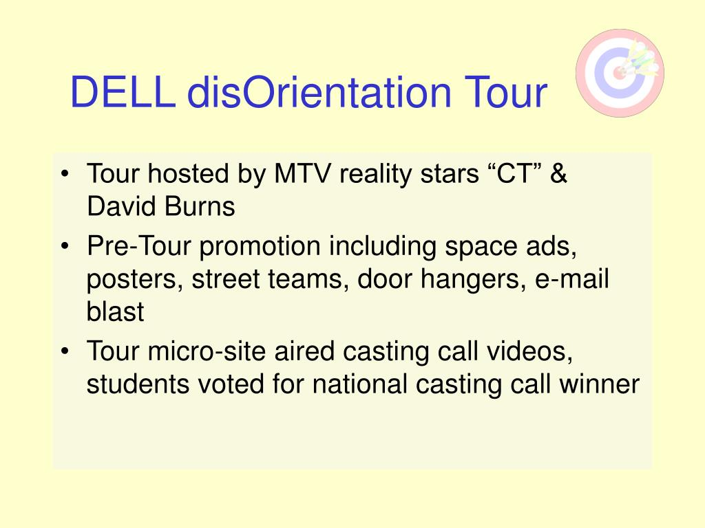 DELL disOrientation Tour