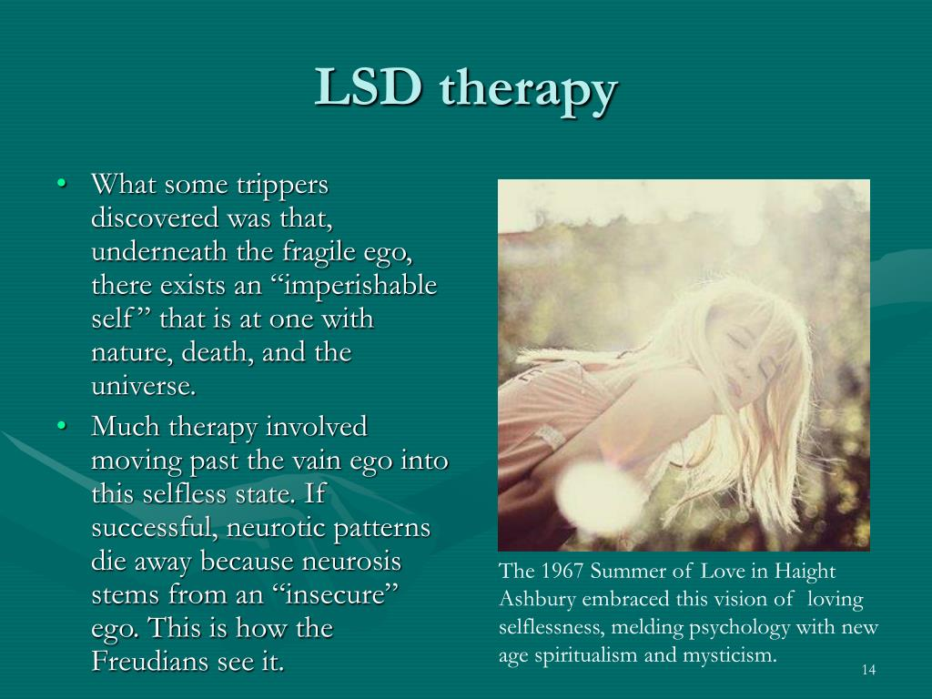LSD therapy