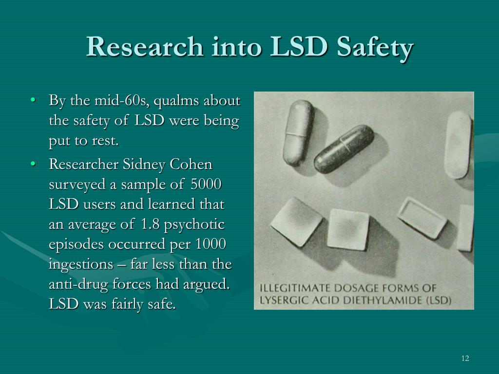 Research into LSD Safety