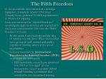 the fifth freedom