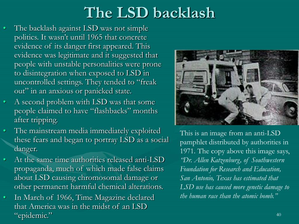 The LSD backlash