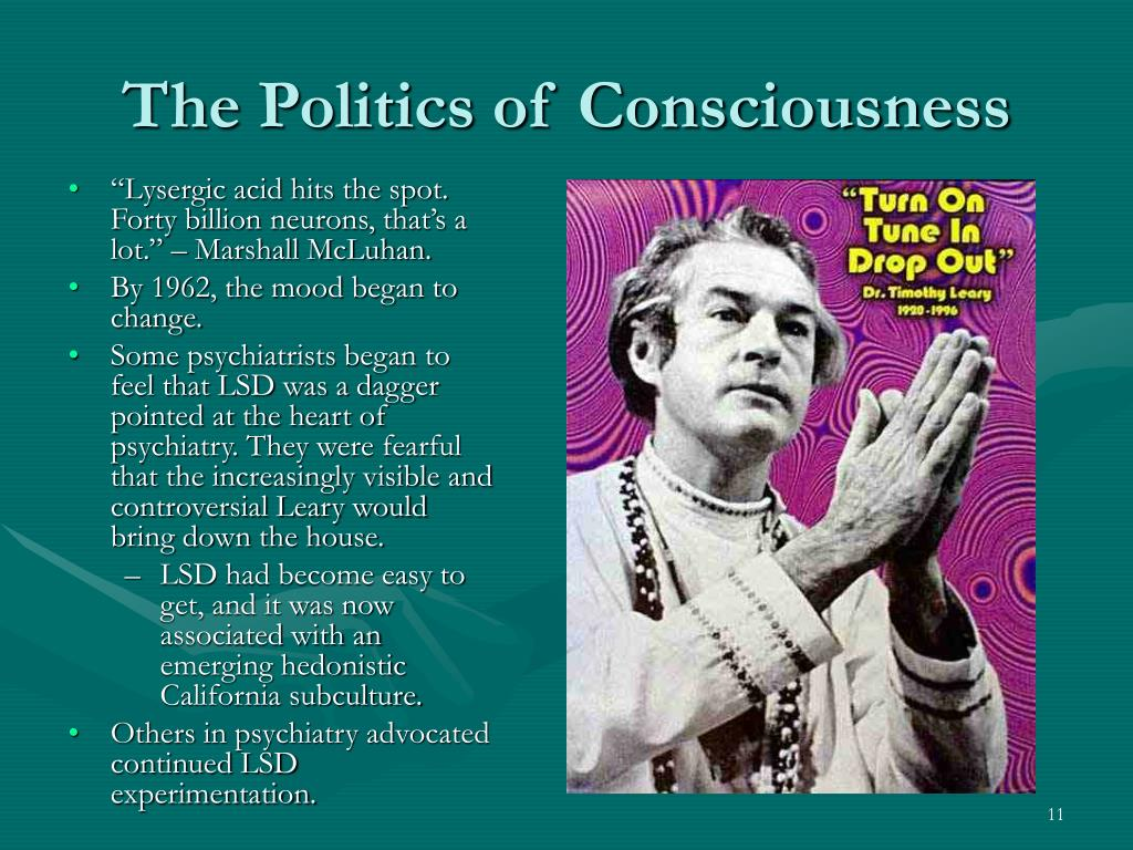 The Politics of Consciousness