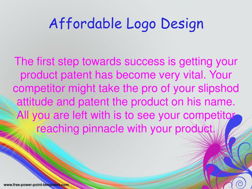 The first step towards success is getting your product patent has become very vital. Your competitor might take the pro of your slipshod attitude and patent the product on his name. All you are left with is to see your competitor reaching pinnacle with your product.