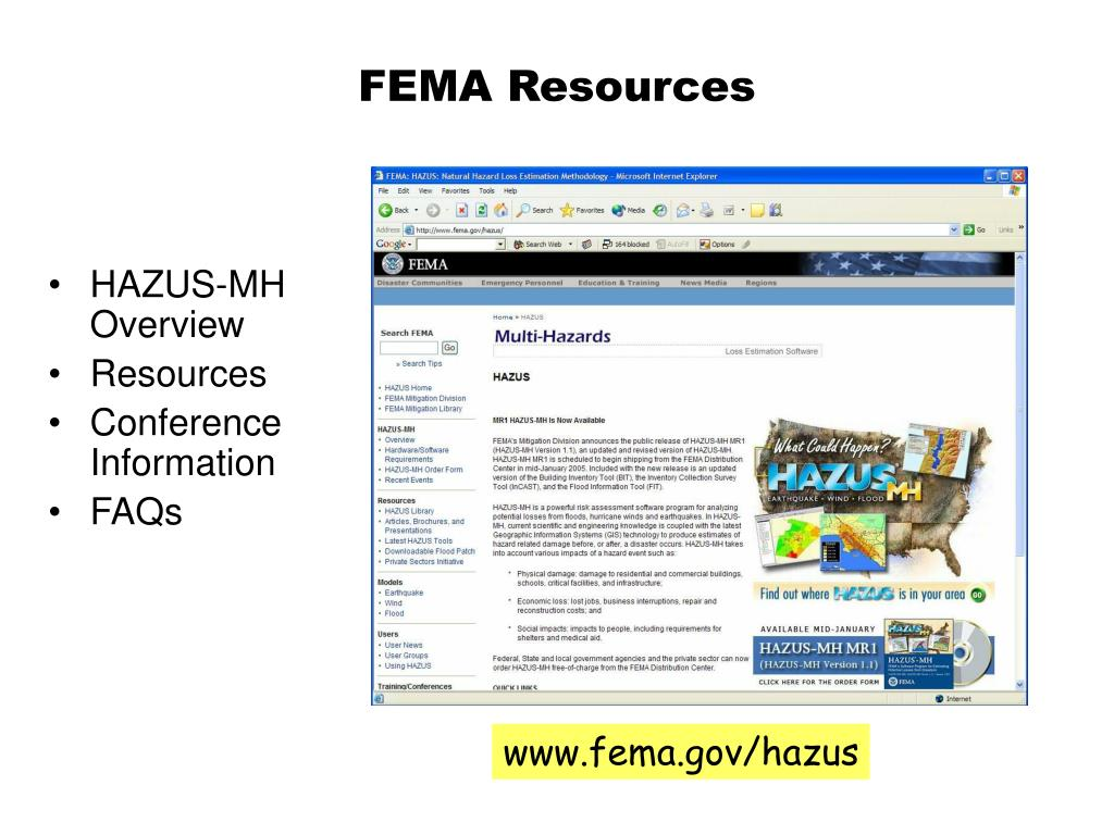 FEMA Resources