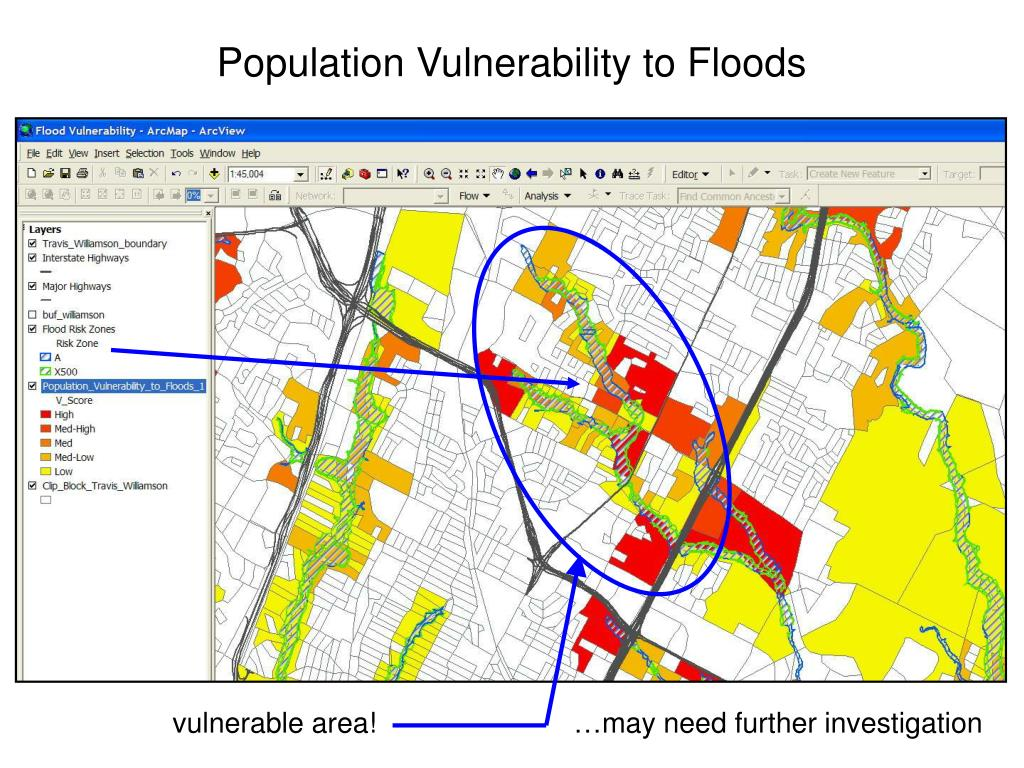 Population Vulnerability to Floods