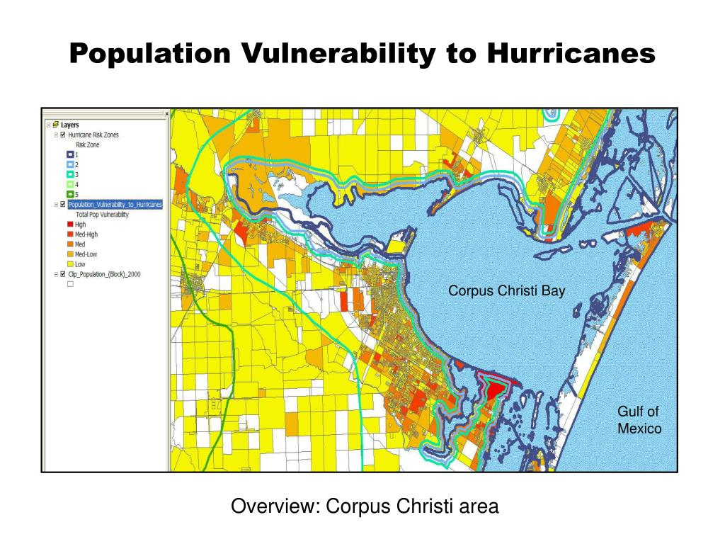 Population Vulnerability to Hurricanes