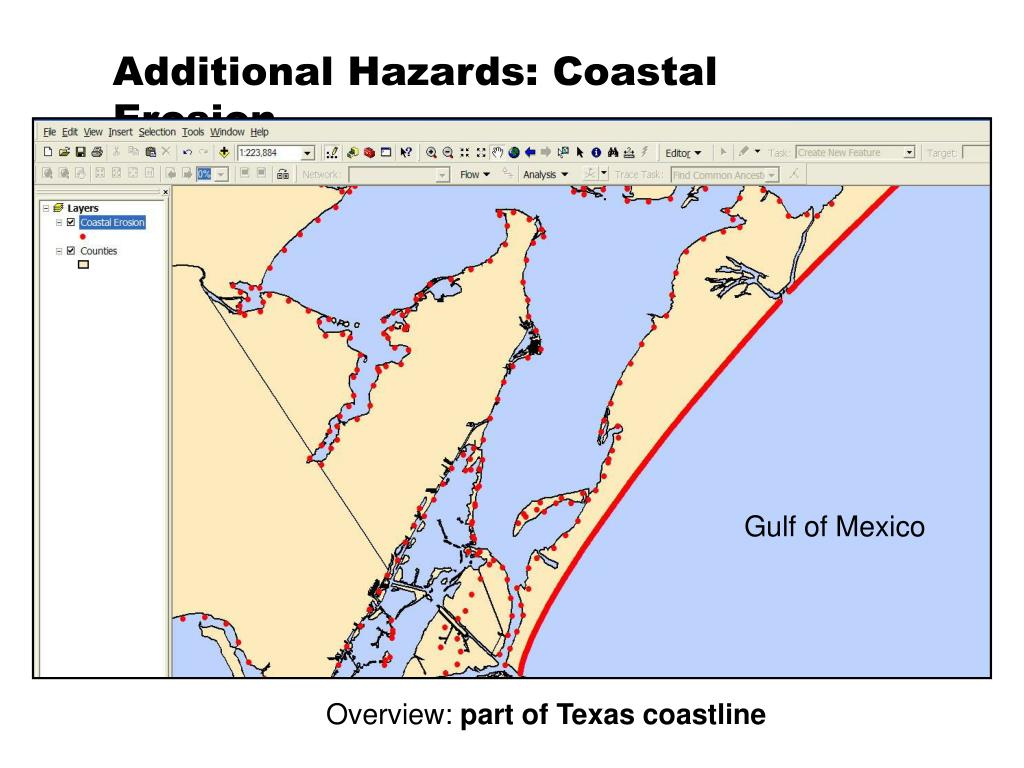 Additional Hazards: Coastal Erosion