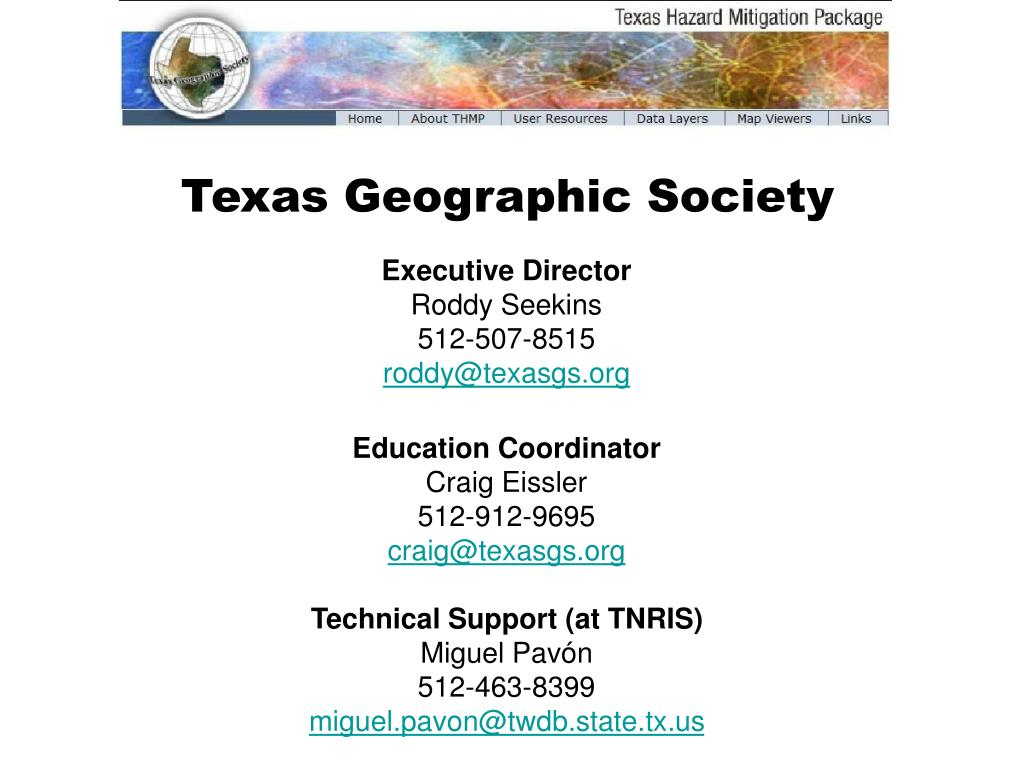 Texas Geographic Society
