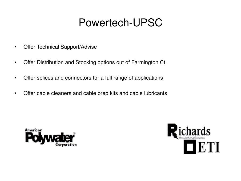 Powertech-UPSC