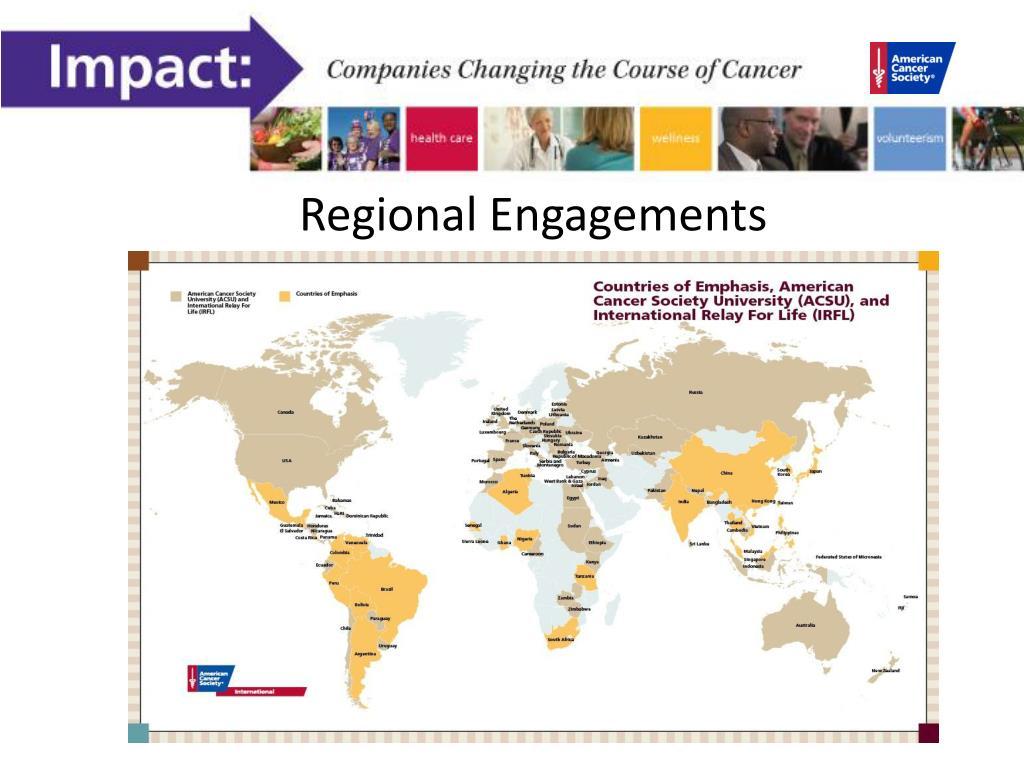 Regional Engagements