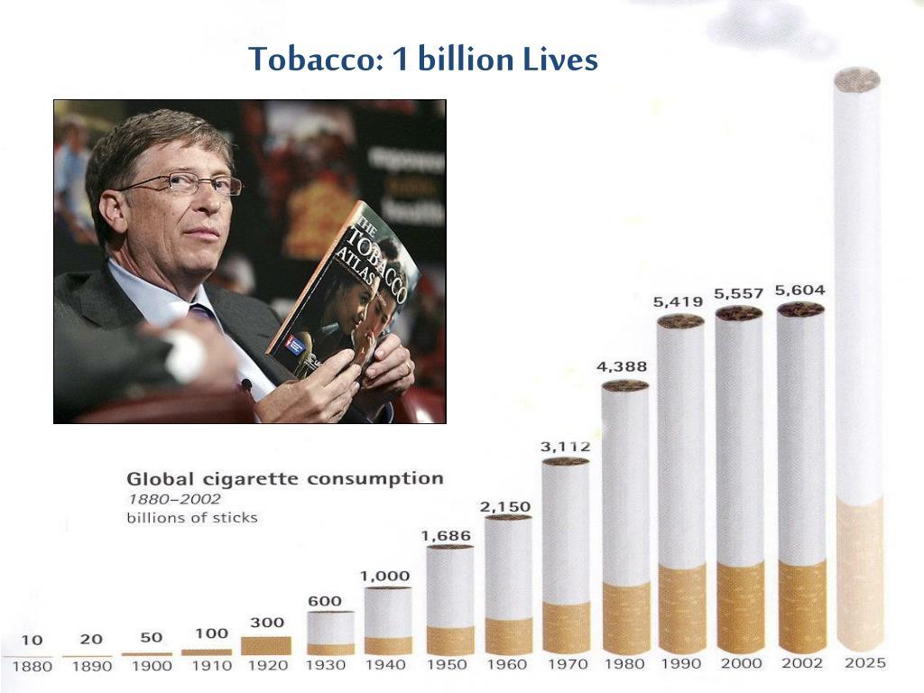 Tobacco: 1 billion Lives