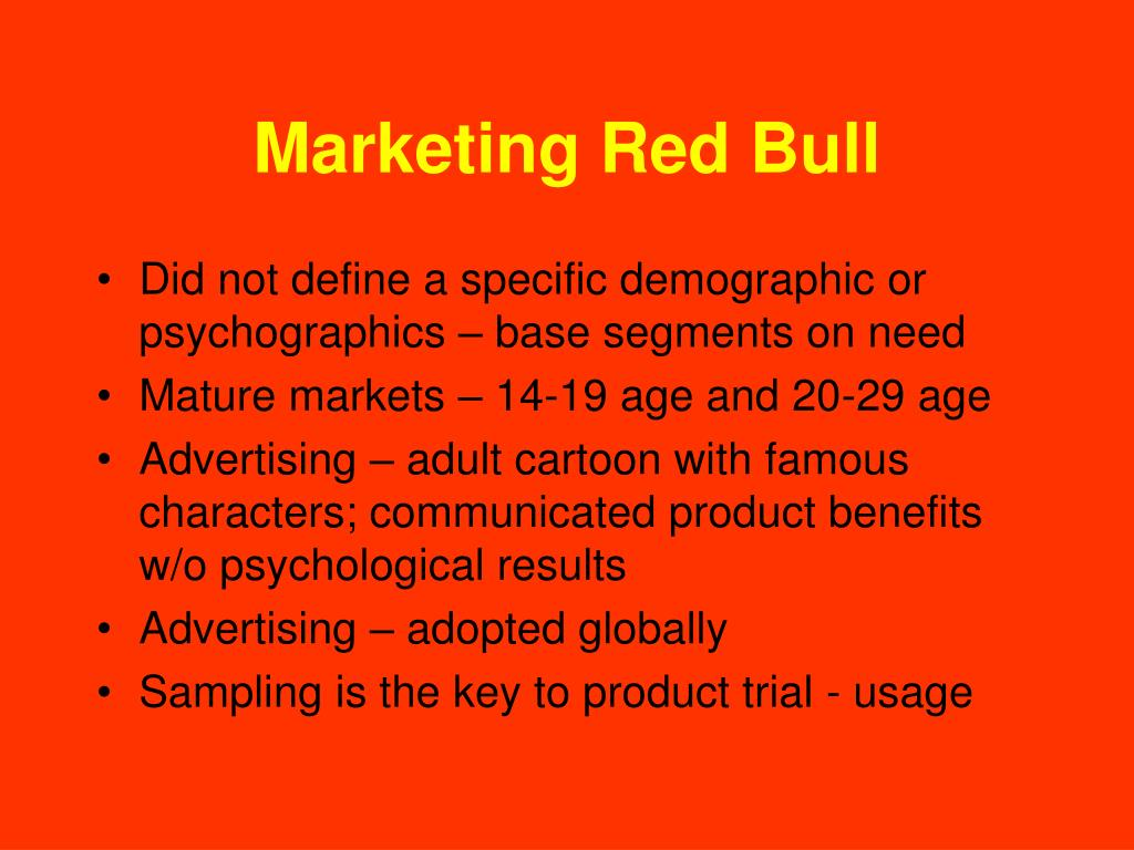 Marketing Red Bull