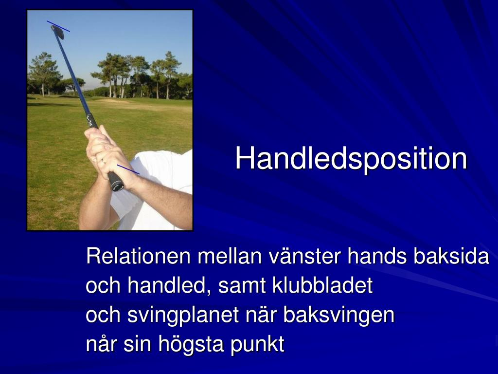 Handledsposition