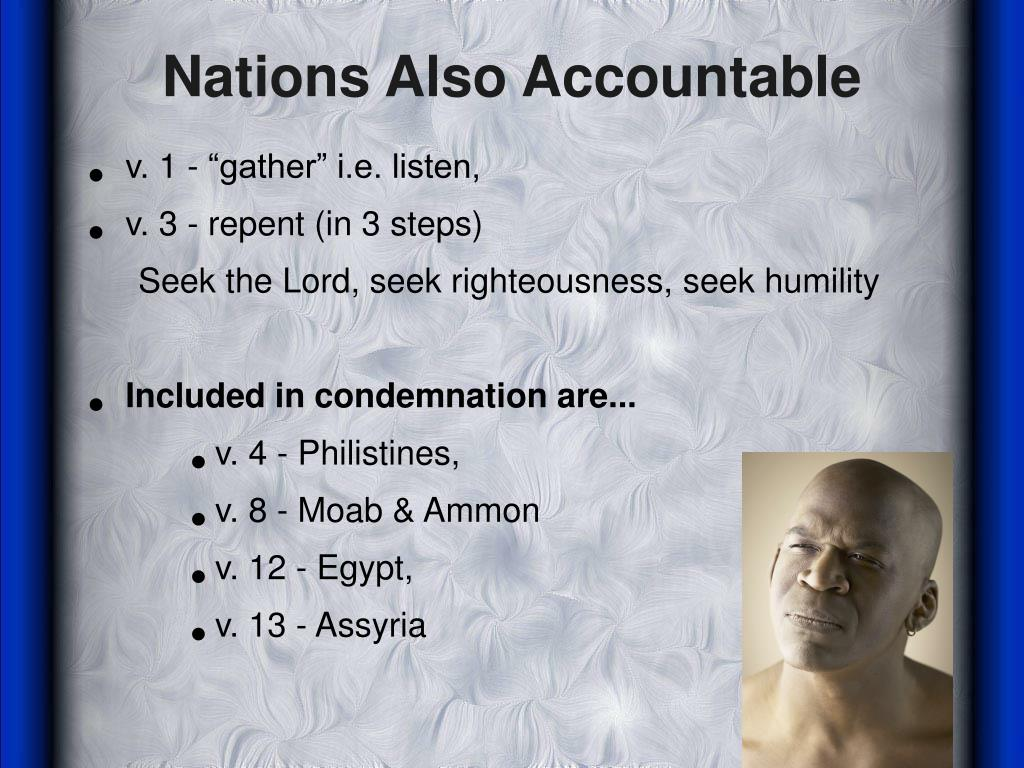 Nations Also Accountable