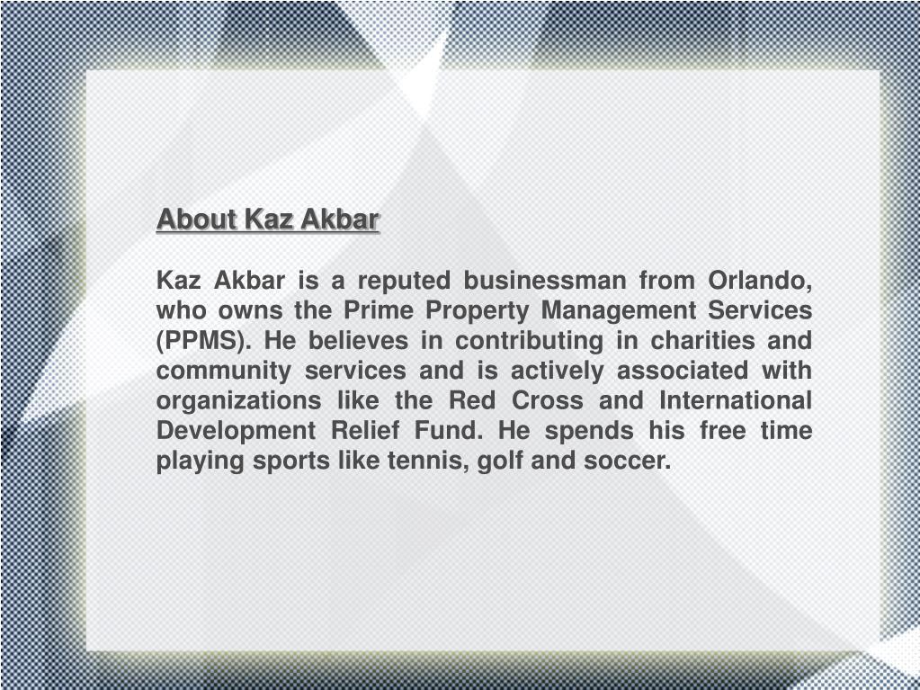 About Kaz Akbar