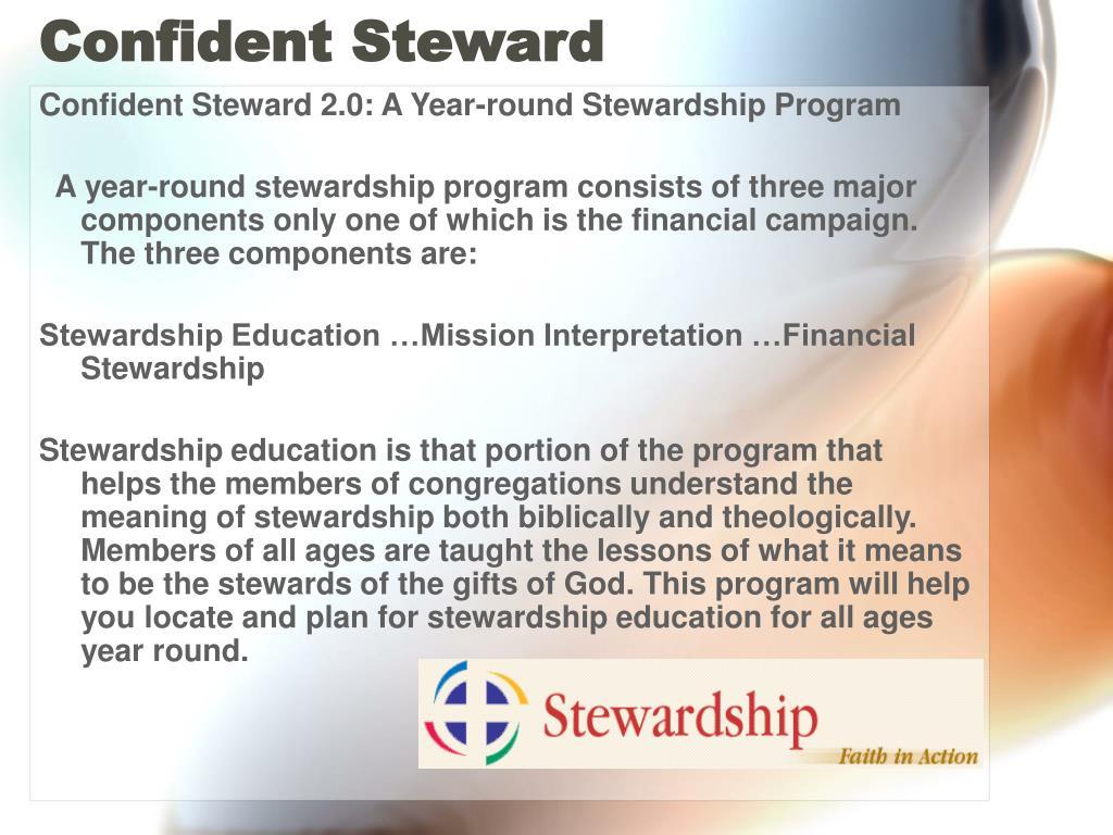 Confident Steward