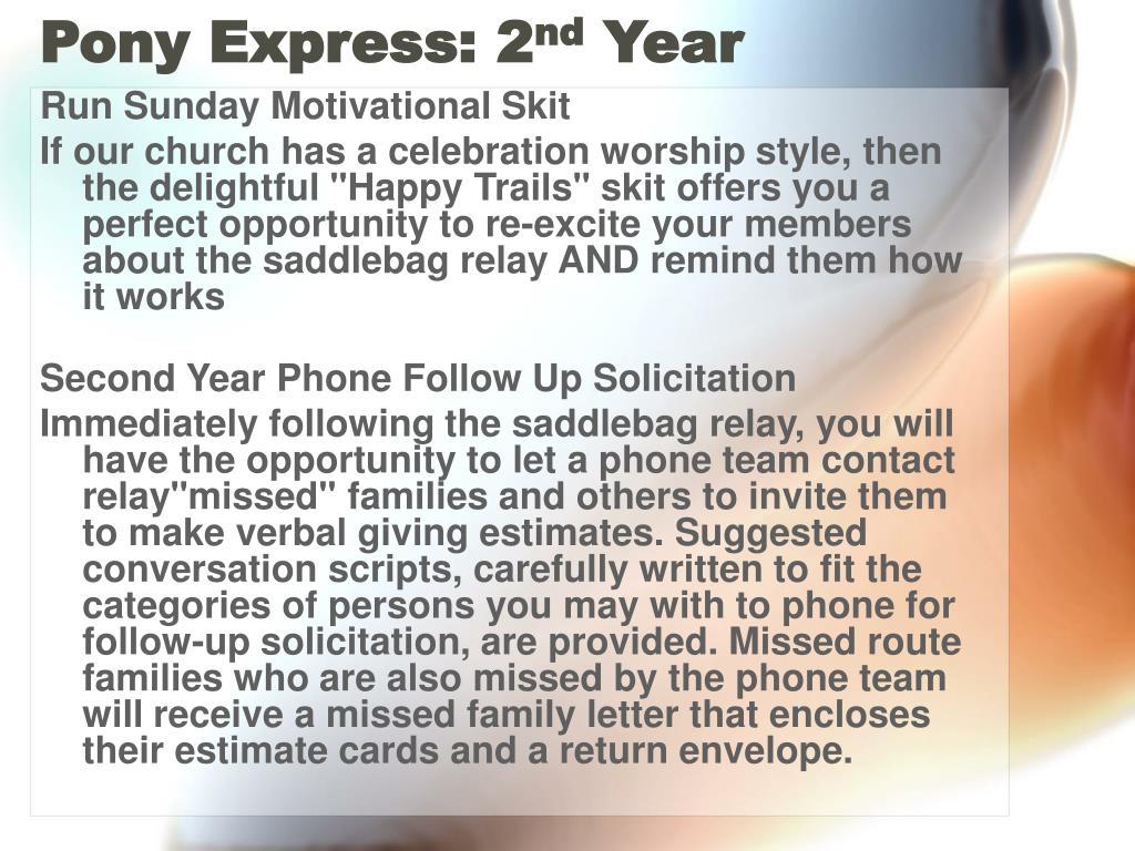 Pony Express: 2