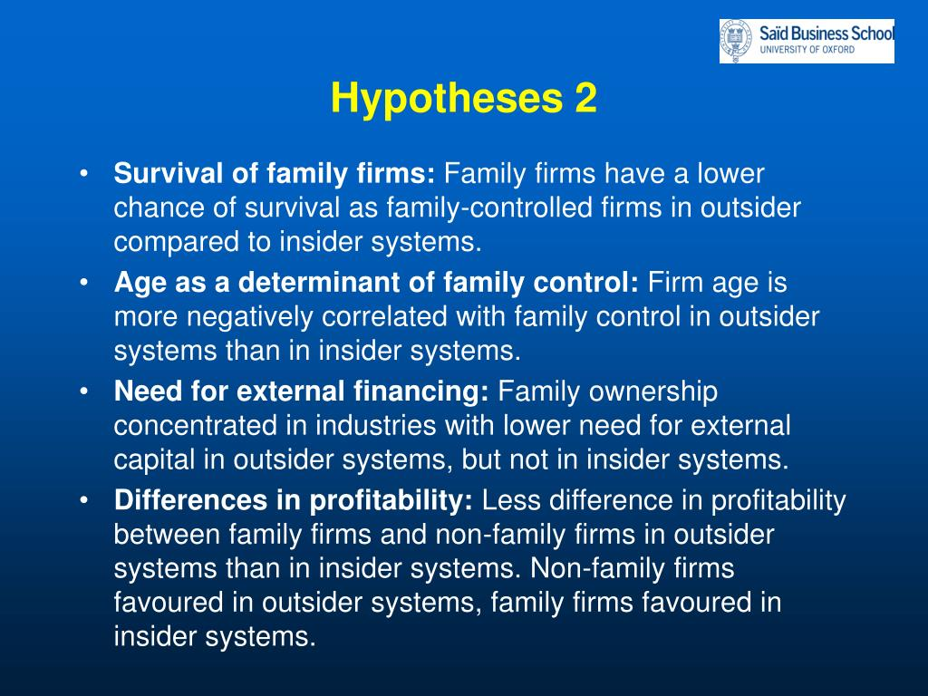 Hypotheses 2