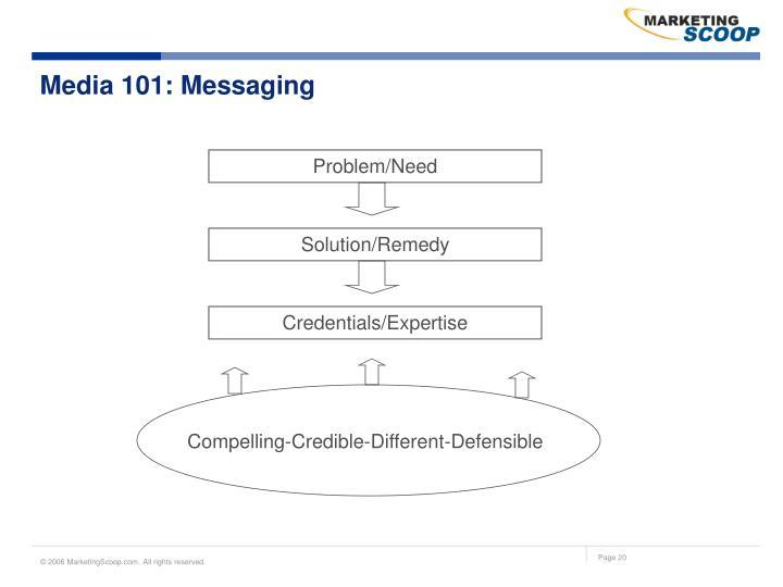 Media 101: Messaging