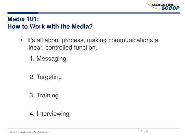 Media 101: