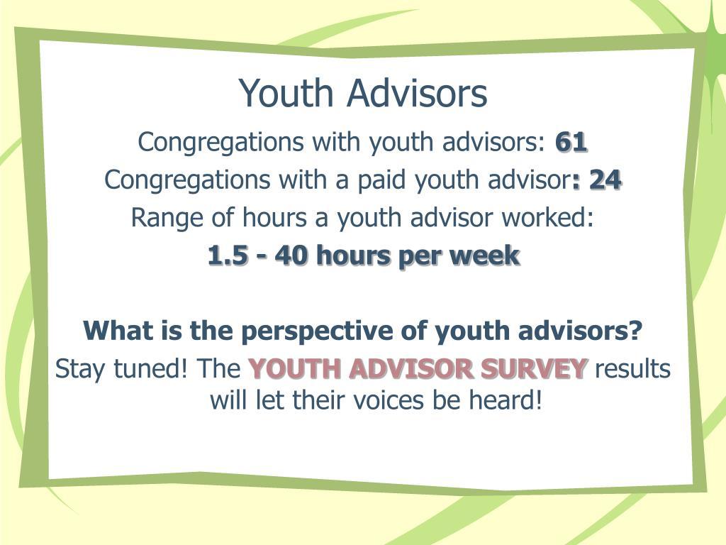 Youth Advisors