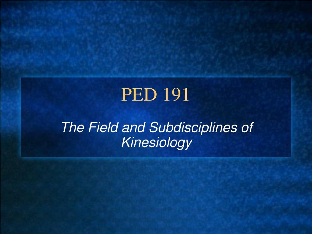 PED 191