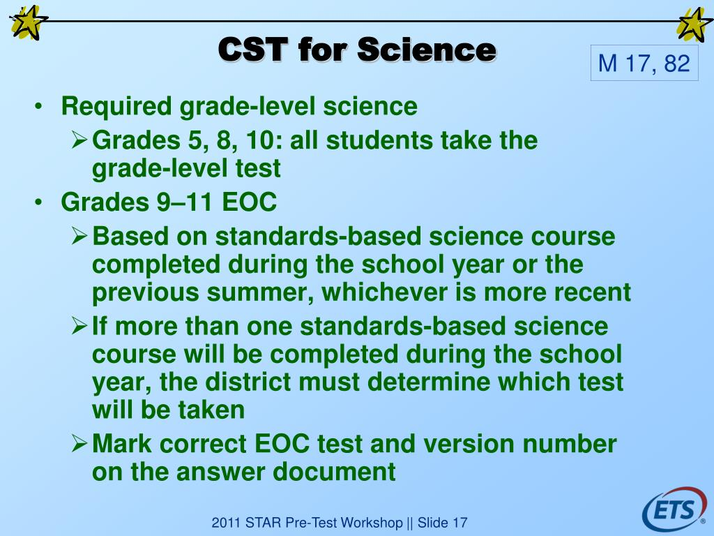 CST for Science