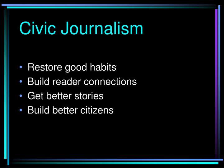 Civic Journalism