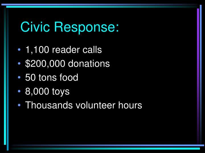 Civic Response: