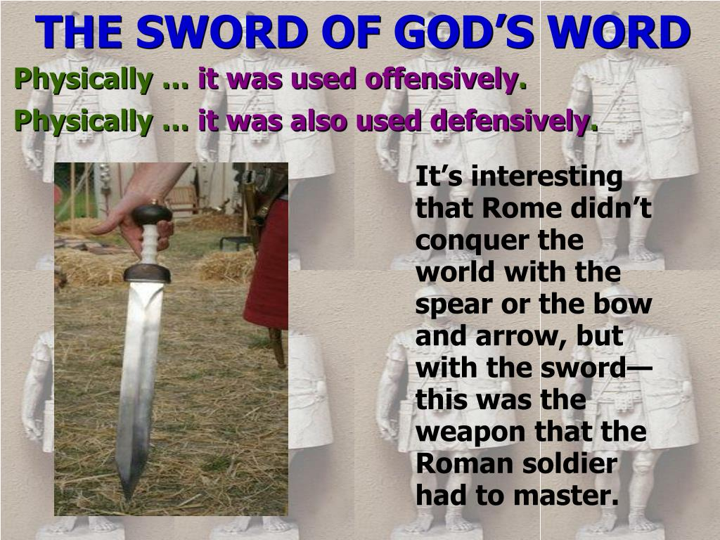 THE SWORD OF GOD'S WORD